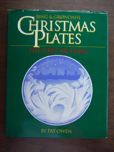 Bing & Grondhal Christmas Plates: The First: Owen, Pat