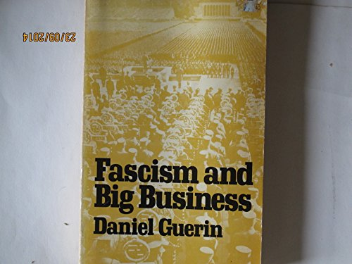 9780913460245: Fascism and Big Business