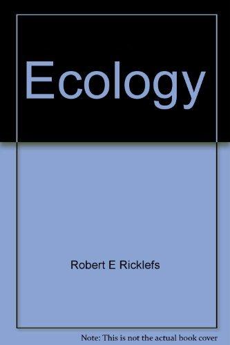 Ecology: Ricklefs, Robert E