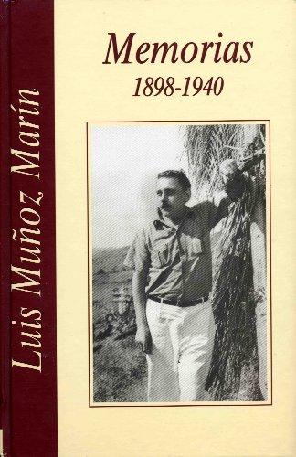9780913480533: Memorias: 1898-1940(Spanish Edition)