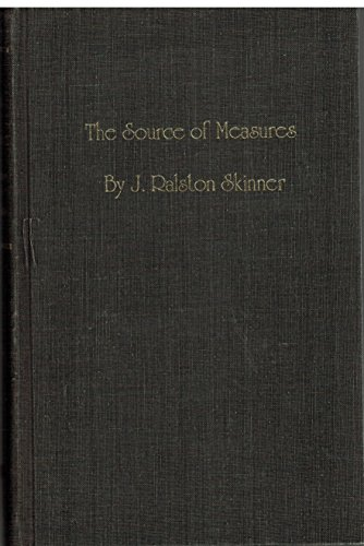 9780913510001: Source of Measures