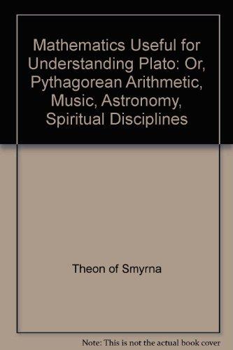 9780913510247: Theon of Smyrna: Mathematics Useful for Understanding Plato Or, Pythagorean Arithmatic, Music, Astronomy, Spiritual Disciplines