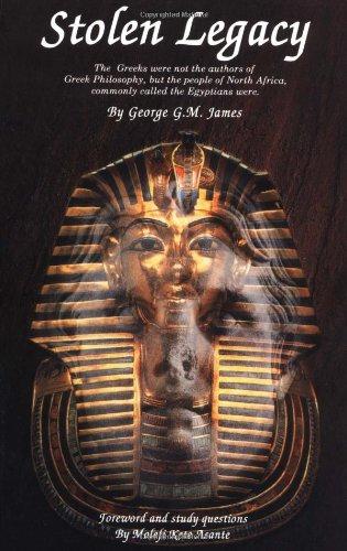 9780913543788: Stolen Legacy: Greek Philosophy Is Stolen Egyptian Philosophy