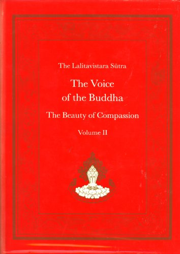 9780913546857: The Voice of the Buddha: The Beauty of Compassion, Vol. 2 (The Lalitavistara Sutra)