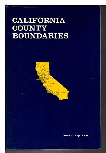 California County Boundaries: Coy, Owen C