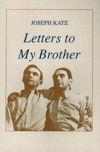 9780913559468: Letters to My Brother