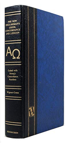 New Englishmans Greek Concordance and Lexicon: Wigram, George V.