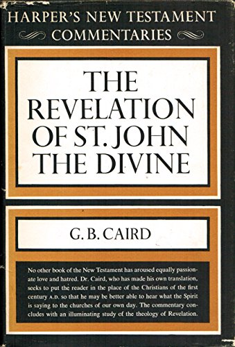9780913573709: A Commentary on the Revelation of St. John the Divine (Harper's New Testament commentaries)