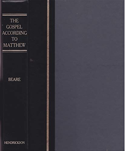 9780913573747: The Gospel according to Matthew: Translation, introduction, and commentary