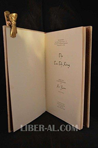 9780913576069: The Tao teh king: Liber CLVII : a new translation