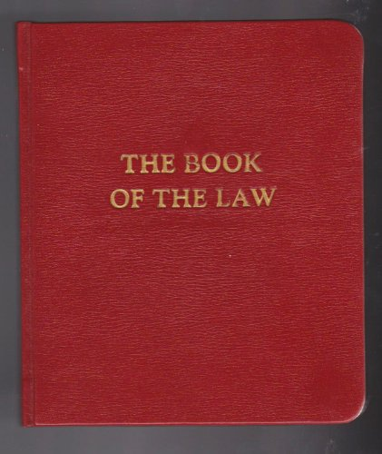 9780913576274: The Book of the Law