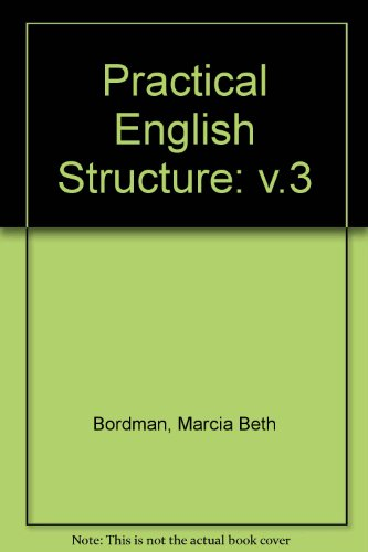 9780913580684: Practical English Structure: v.3