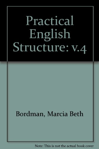 9780913580691: Practical English Structure: v.4