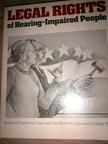 9780913580783: Legal rights of hearing-impaired people