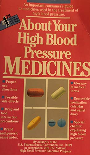 About Your High Blood Pressure Medicines: National High Blood