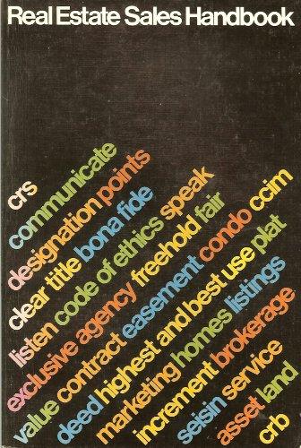 9780913652015: Real Estate Sales Handbook