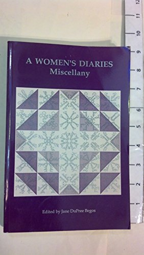 9780913660249: A Women's Diaries Miscellany