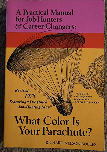 9780913668917: What Color is Your Parachute?