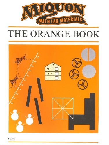 9780913684504: Miquon Math Lab Materials: Orange Book Level 1