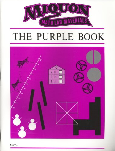 9780913684559: Purple Book (Miquon Math Lab Materials)