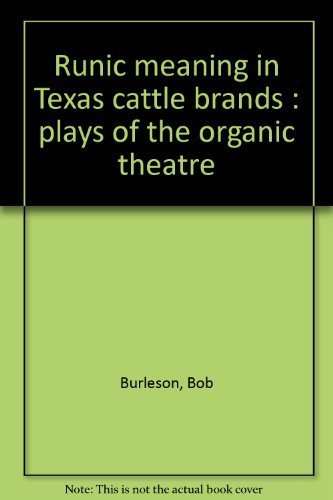 Runic meaning in Texas cattle brands : Burleson, Bob
