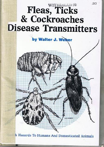 9780913702277: Fleas, Ticks and Cockroaches-Disease Transmitters