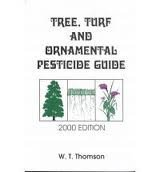 Tree Turf and Ornamental Pesticide Guide: Thomson, W. T.