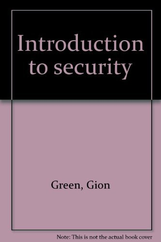 9780913708200: Introduction to security