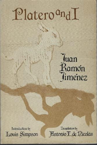 Platero and I: Jimenez, Juan Ramon