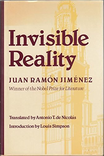 Invisible Reality: 1917-1920, 1924: Jimenez, Juan Ramon