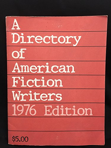 A directory of American fiction writers: Poets & Writers, Inc