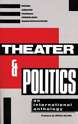 9780913745328: Theater and Politics: An International Anthology (Tibetan Translation Series)