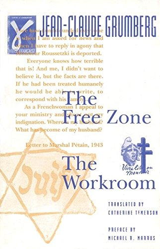 9780913745397: The Free Zone /The Workroom