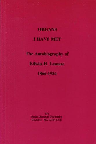 9780913746325: Organs I Have Met