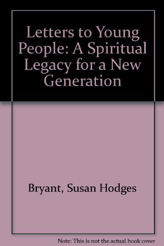 9780913757727: Letters to Young People: A Spiritual Legacy for a New Generation