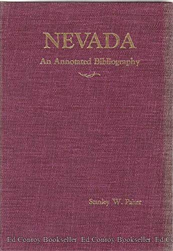 Nevada: An Annotated Bibliography