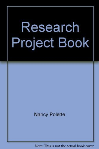 The Research Project Book: Nancy Polette