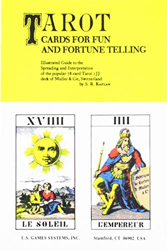 9780913866023: Tarot Cards for Fun and Fortune Telling: Illustrated Guide to the Spreading and Interpretation of the Popular 78-Card Tarot IJJ Deck of Muller & CIE, Switzerland
