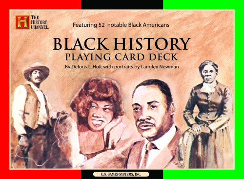 Black History Playing Card Deck.: Holt, Delores; Newman, Langley.