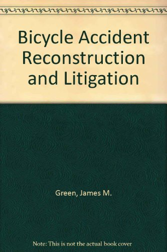 9780913875216: Bicycle Accident Reconstruction and Litigation