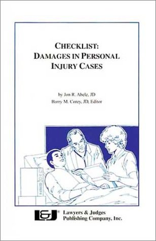9780913875377: Checklist: Damages in Personal Injury Cases