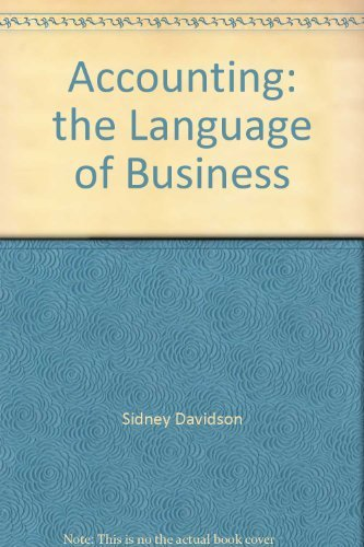 9780913878132: Accounting: the Language of Business