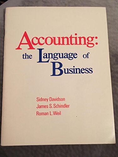 9780913878477: Accounting: The Language of Business