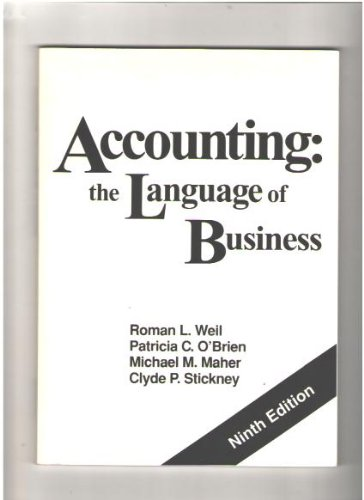 9780913878514: Accounting: The Language of Business