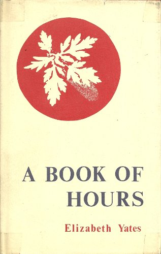 9780913886076: A book of hours