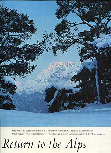 Return to the Alps (Friends of the Earth): Brower, David R. , Knight, Max