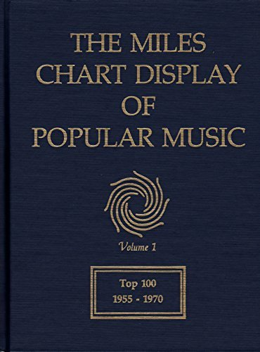 The Miles Chart Display of Popular Music Volume 1 Top 100 1955 - 1970: Miles, Betty, Daniel and ...