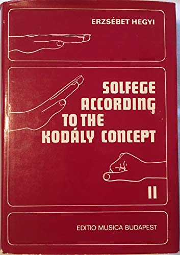 9780913932094: Solfege According to the Kodaly Concept