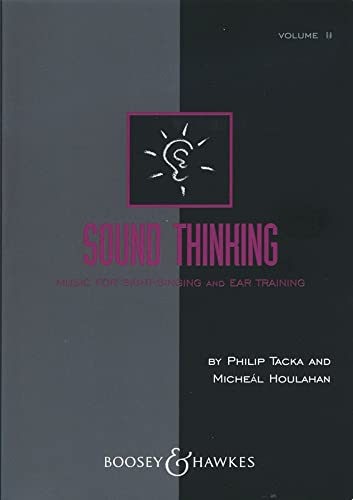 9780913932568: 2: Sound Thinking - Volume II: Music for Sight-Singing and Ear Training