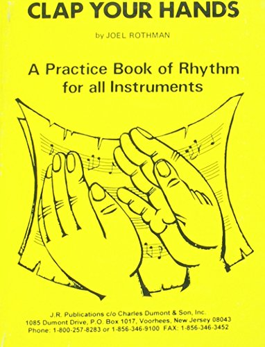 9780913952085: Clap Your Hands : A Practice Book of Rhythm for All Instruments